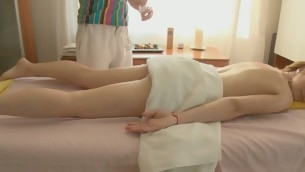 Knockout gets a hefty vibrator on her clits in advance be beneficial to wild drilling