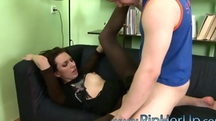 Cute gal gets unforgettably strong orgasms from anal sex